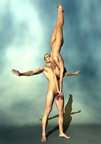 Интересные позы в сексе стоя